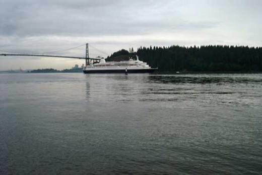 Alaskan Cruise Circling Stanley Park