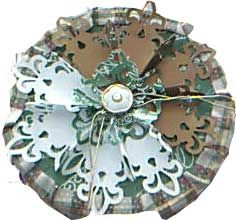 Snowflake Topper for the Decorated Coffee Tin