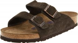 This is a traditional style of Birkenstocks.  They are comfortable and perfect for people with foot issues.