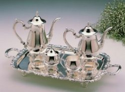 Silver Tea Sets That Mom Will Love