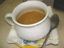 Cup of Vegetarian, Pumpkin Soup