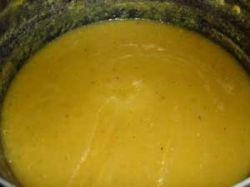 Curried Pumpkin Soup in Soup Kettle