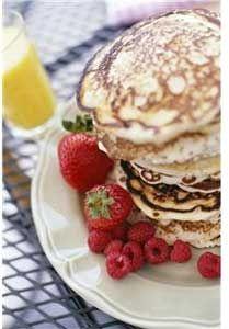 Oatmeal Banana Bread Pancakes