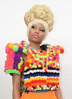 Nicki Minaj is a delightful entertainer and you can easily pull together outfits like the ones she wears!