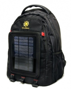 A solar panel on the outside of these backpacks helps you keep everything charged.  Stay in touch wherever you have internet service, even if no electricity is available.