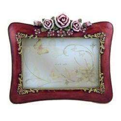 This is an example of one of the lovely picture frames you may want to own for yourself or give to someone else.  Of course, picture frames come in all styles, colors and shapes.