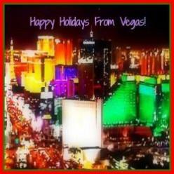 It's Christmas Time In The Las Vegas Desert