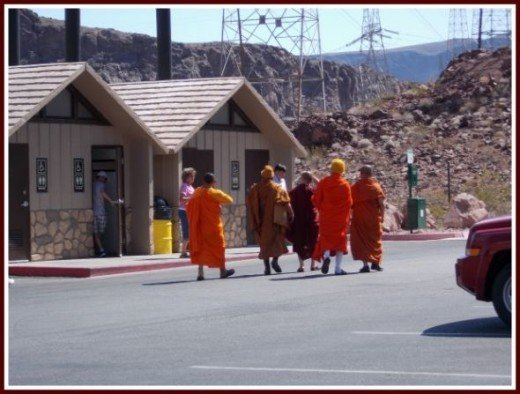 Monks At Rest Area