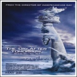 The Day After Tomorrow Movie Poster (27 x 40) - Amazon $16.95