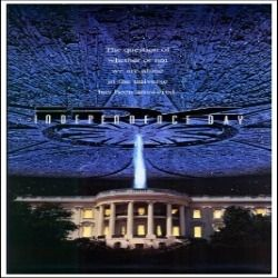 Independence Day Movie Poster (27 x 40) - Amazon $16.95