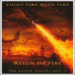 Reign of Fire (dragon) - Movie Poster (27x40) Amazon &16.36