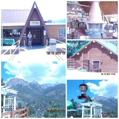 Cabins And Lodge On Mount Charleston