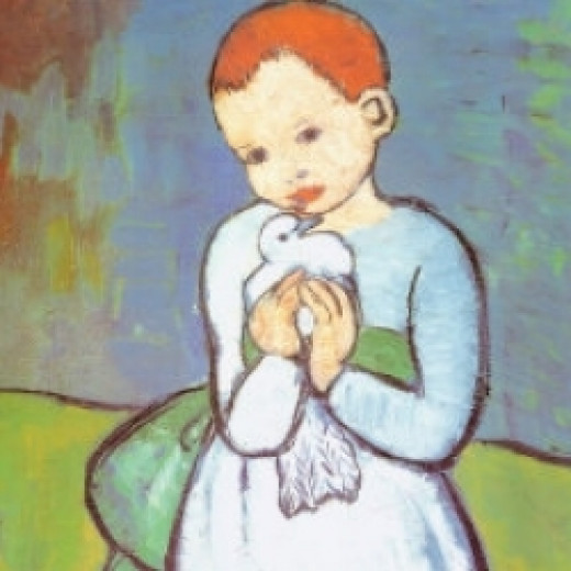 Child With a Dove