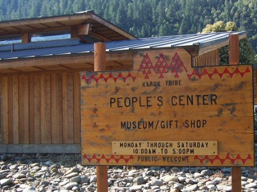 Across the street is the Karuk People's Center gift shop and museum.