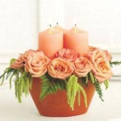 Best Wedding Candle Centerpiece Ideas