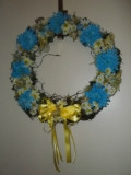 Make A Butterfly Wreath