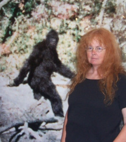 Patty and Me - 2006 - Willow Creek Bigfoot Museum