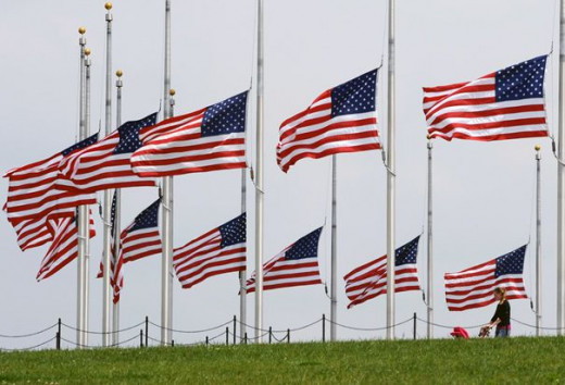 Flags For Memorial Day