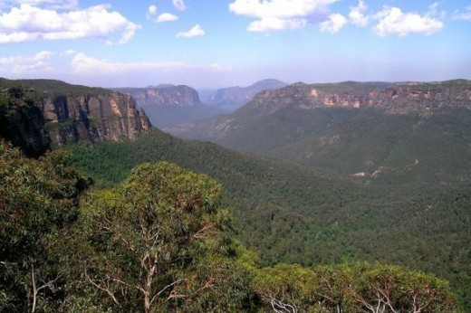 The Great Dividing Range, New South Wales