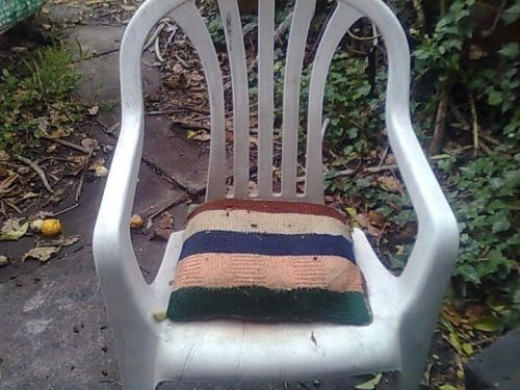 Possum Poo on the chair