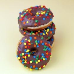 Mini donuts are fun and yummy!
