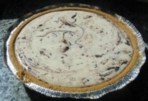 Cheesecake before baking