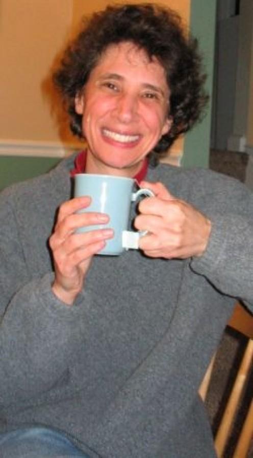 Drinking hot tea helps to keep me warm