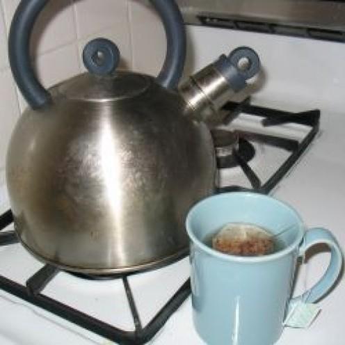 Ahhh, hot tea!