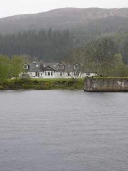 I wonder what these folks have seen in and around the loch?