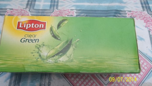 A Package Of Green Tea