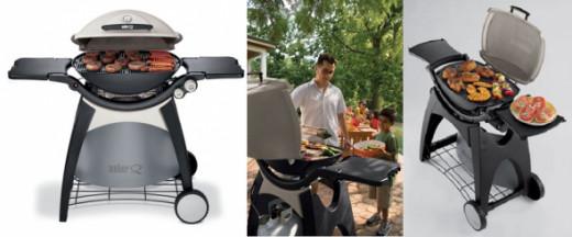Weber 426001 Q 300 Portable 393-Square-Inch 21700-BTU Liquid-Propane Gas Grill