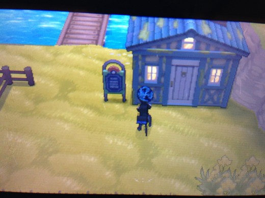 Fly to Lumiose City and take Route 16 to Melancolie Path.  Enter this house to get the Super Rod.