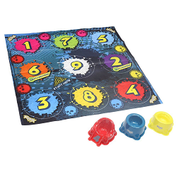 Roxx Skullzz Game with collectibles to collect