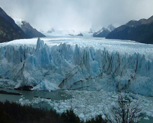 The Glacier in El Calafate