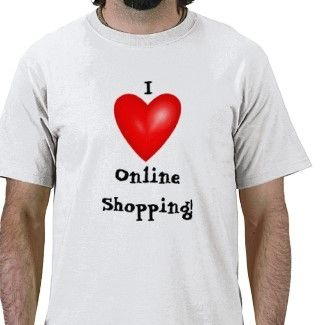 I Love Shopping Online T-Shirt