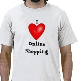 I Love Shopping Online T-Shirt
