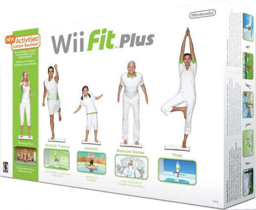 Wii Fitness Plus with Board on Amazon