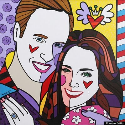 Kate & William - Acrylic on Canvas 2011