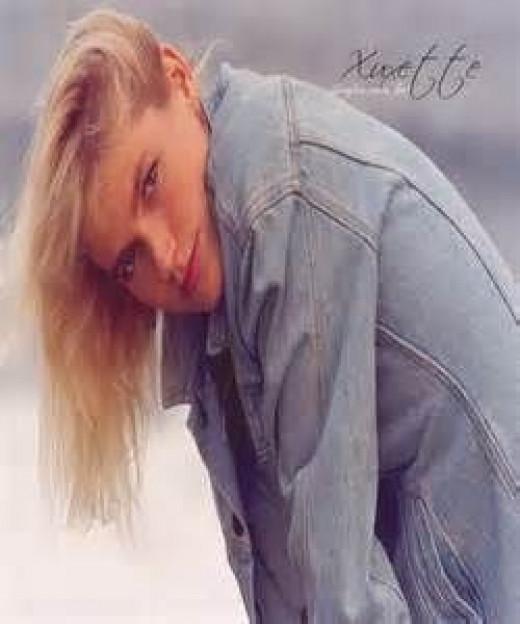 Xuxa in the 90's