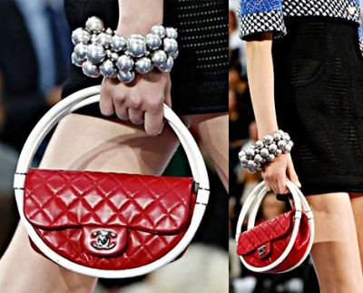 Chanel Hula Hoop Handbag - Small Version so Hot for 2013 - I want it!!!