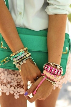 Layered Bracelet trend