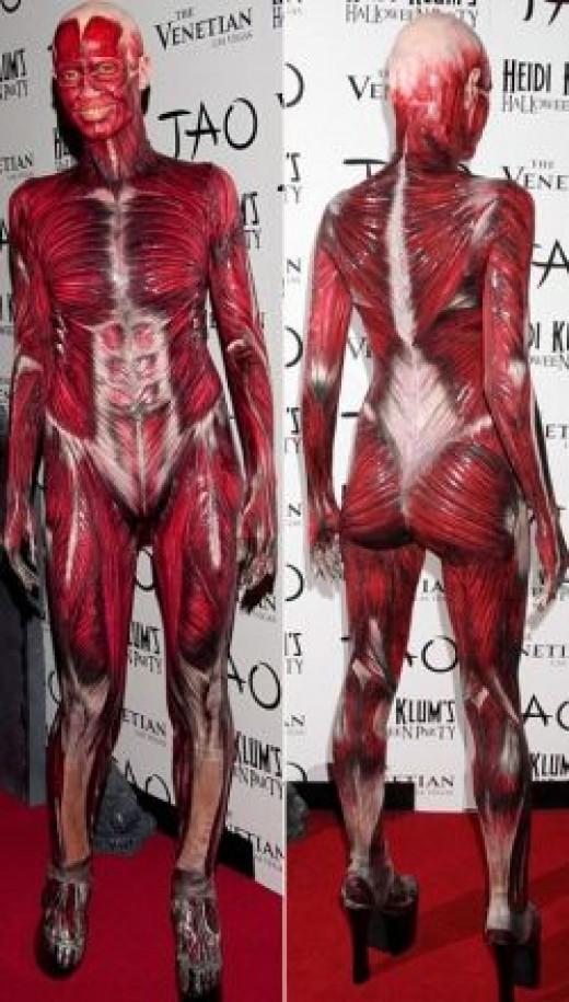 Heidi Klum 2011 Halloween costume
