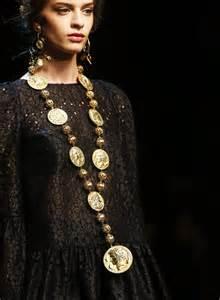 Dolce oversized necklace
