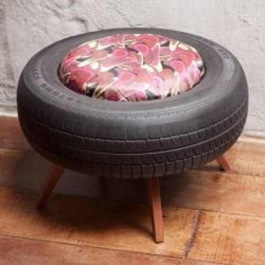 Tire Bench