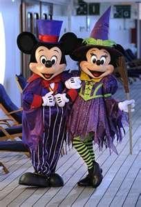 Disney Family Fun Halloween contest