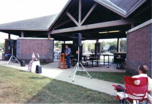 Scripture reading by Pastor Jim Bell (Stuart Union Church)
