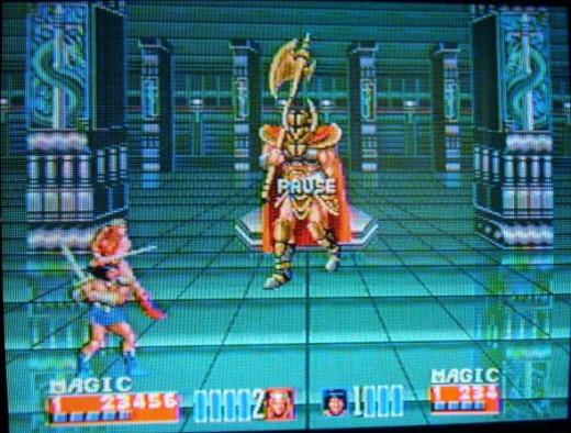 Entering last battle on Golden Axe 2. P.S. We won.