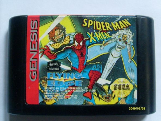 Spider-Man Xmen cart