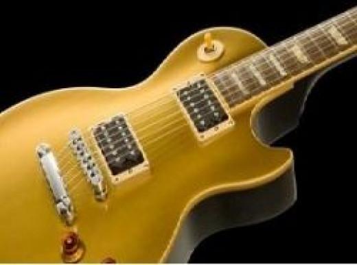 Gibson les paul slash goldtop: Hardware!