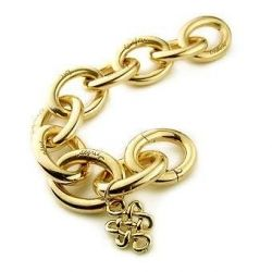 Sutra Bracelet in Gold